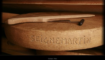 Site internet de Fromagerie Seignemartin