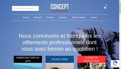 Site internet de Concept