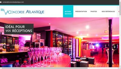 Site internet de Concorde Atlantique