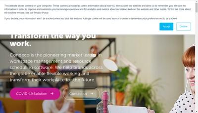 Site internet de Condeco Software SARL