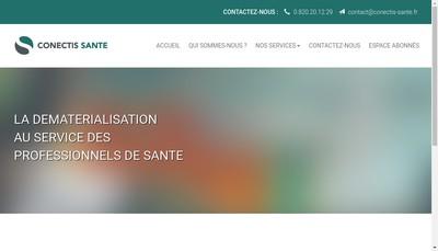 Site internet de Connectis Sante