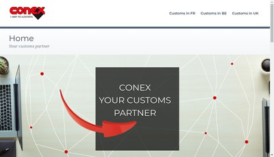 Site internet de Conex