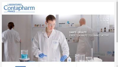 Site internet de Laboratoires Contapharm