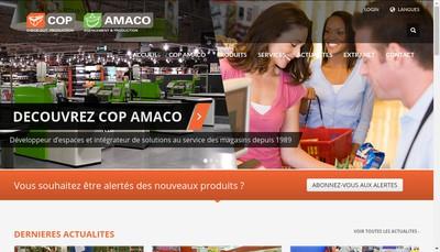 Site internet de Amaco Production