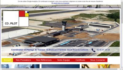 Site internet de Co-Pilot