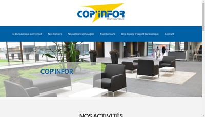 Site internet de Cop'Infor Bureautique