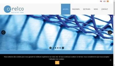 Site internet de Corelco SAS