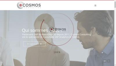 Site internet de Cosmos Consulting