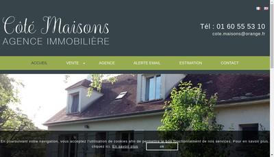 Site internet de Ma Immobilier