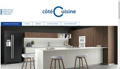 Site internet de Cote Cuisine