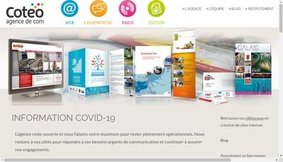 Site internet de Coteo