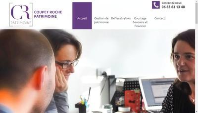 Site internet de Coupet-Roche Patrimoine