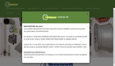 Site internet de Covanord