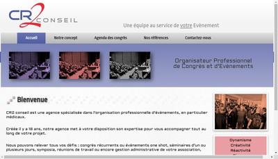Site internet de CR 2 Conseil