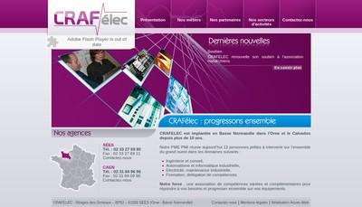 Site internet de Crafelec
