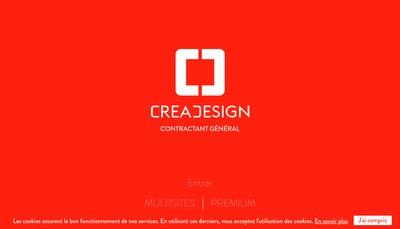 Site internet de Crea Design