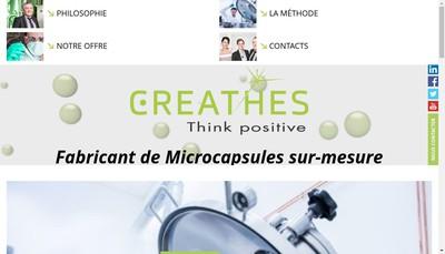 Site internet de Creathes