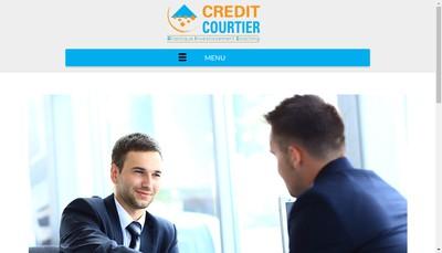 Site internet de Credit-Courtier