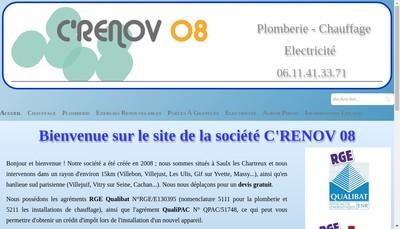 Site internet de C Renov 08