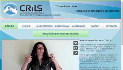 Site internet de Crils