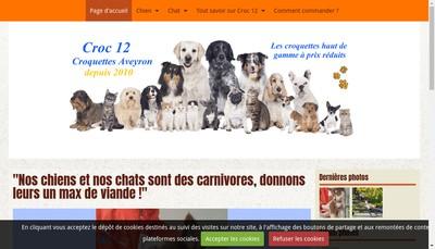 Site internet de Croc 12