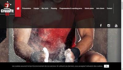 Site internet de Cross Fit 68