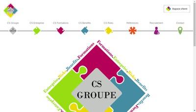 Site internet de CS Entreprise