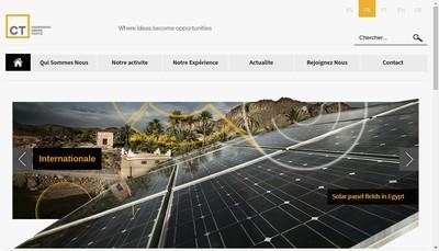 Site internet de Ct Ingenierie