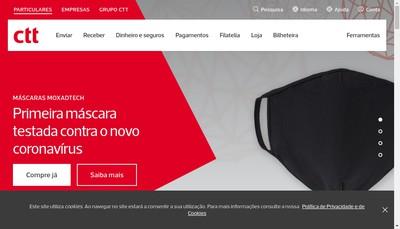 Site internet de CTT