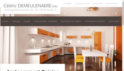 Site internet de Cedric Demeulenaere