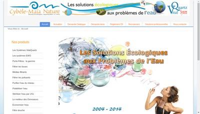Site internet de Cybele-Maia Nature