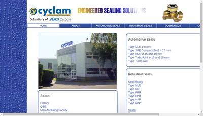 Site internet de Cyclam
