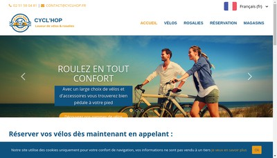 Site internet de Le Cycl'Hop
