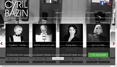 Site internet de Bazin 3