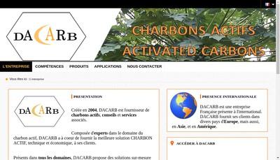 Site internet de Dacarb