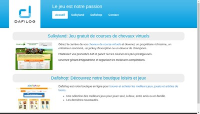 Site internet de Dafilog