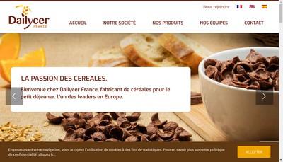 Site internet de Dailycer France