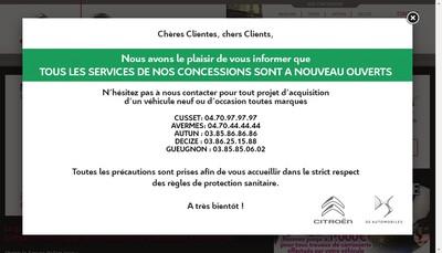 Site internet de Etablissements Dubois-Dallois