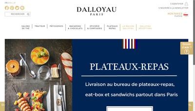 Site internet de Dalloyau