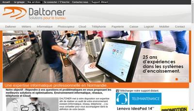 Site internet de Daltoner