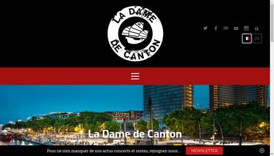 Site internet de La Dame de Canton