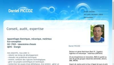 Site internet de Daniel Piccoz