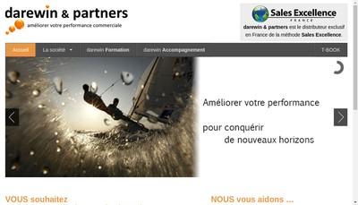 Site internet de Darewin & Partners