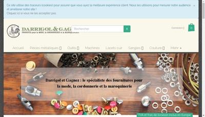 Site internet de Darrigol & Gagnez