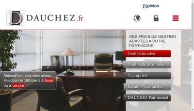 Site internet de Dauchez Administrateur de Biens SA