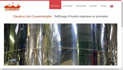 Site internet de Etablissements Ch Daudruy Van Cauwenberghe et Fils
