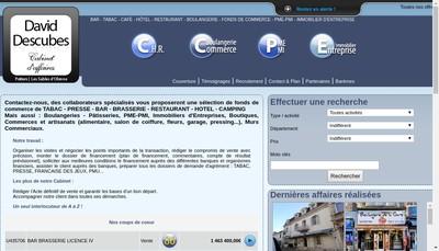 Site internet de Cabinet Patrick Descubes