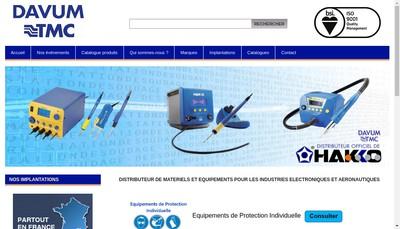 Site internet de Davum TMC