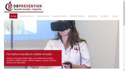 Site internet de Db Prevention