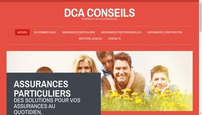Site internet de Dca Conseils